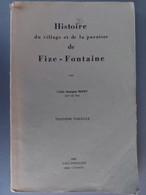 Histoire Du Village Et De La Paroisse De Fize-Fontaine - Belgium