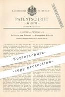 Original Patent - G. Grimm , Zwickau , 1897 , Pressen Von Sägespäne - Briketts   Brikett , Kohle , Koks , Brennstoff ! - Documentos Históricos