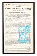 DP Odile De Cang ° Strijpen Zottegem 1842 † Gent 1912 X Eugène L. Boulet - Imágenes Religiosas