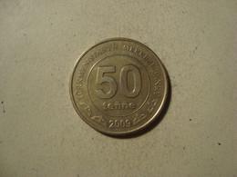 MONNAIE TURKMENISTAN 50 TENGE 2009 - Turkmenistan