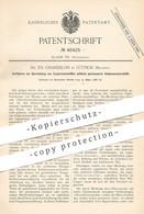 Original Patent - Dr. Th. Chandelon , Lüttich / Belgien , 1888 , Explosionsstoff Mittels Kohlenwasserstoff !! - Documentos Históricos
