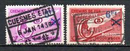 TR 203/204 Gestempeld CUESMES ETAT - 1923-1941