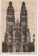 DEPT 37 : édit. L L N° 214 : Tours La Cathédrale Saint Gatien - Tours