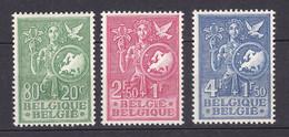 Belgien - 1953 - Michel Nr. 976/978 - Ungebr. - 30 Euro - Ongebruikt