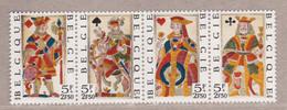 1973 Nr 1695-98** Zonder Scharnier,strip Van 4.Solidariteit,speelkaarten. - Nuevos