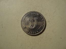 MONNAIE TURKMENISTAN 50 TENNESI 1993 - Turkmenistan