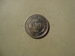 MONNAIE TURKMENISTAN 500 MANAT 1999 - Turkmenistán
