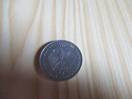 Allemagne - 2 Mark Konrad Adenauer 1977 D.N°2002. - 2 Mark