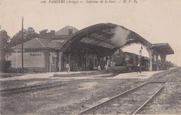 Pamiers (Ariège)1918-gare - Pamiers