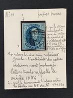 OBP 11 Medaillon 20c - P105 SAINT NICOLAS - Met Aanduiding Van Plaatkenmerken - 1858-1862 Medaillons (9/12)