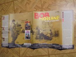 Bob Morane  Jaquette  Lombard 50e Anniversaire Coria    Format 29,5 X 65 Tres Bon Etat - Afiches & Offsets