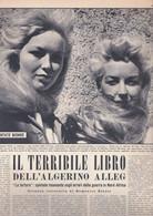 (pagine-pages)LE SORELLE VLADY  Oggi1958/22. - Otros
