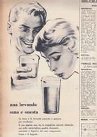(pagine-pages)PUBBLICITA' BIRRA  Oggi1958/22. - Otros