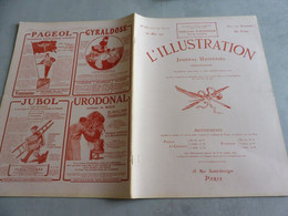 L'Illustration 20 Mai 1916- ZEPPELIN- RUSSES ARMÉNIE GRAND DUC- HOFFBAUER-TABLEAU D'HONNEUR-AQUARELLES TRANCHÉES-JOFFRE - L'Illustration