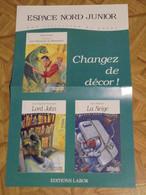 Bob Morane  Labor Espace Nord Junior Vernes   Format  41 X 26 Bon Etat - Afiches & Offsets