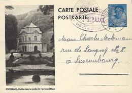 Luxembourg - Luxemburg - Carte-Postale - Postkarten -1937 Echternach Dans Le Jardinde L'ancienne Abbaye - Interi Postali