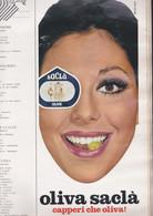(pagine-pages)PUBBLICITA' OLIVE SACLA'  Grazia1969/1501. - Otros