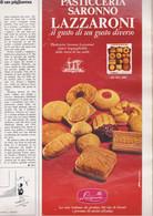 (pagine-pages)PUBBLICITA' LAZZARONI  Grazia1969/1501. - Otros