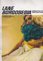 (pagine-pages)PUBBLICITA' LANE BORGOSESIA  Grazia1969/1501. - Otros
