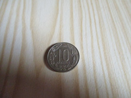Cameroun - 10 Francs 1961.N°2018. - Camerún