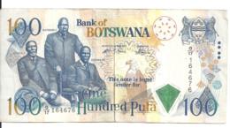 BOTSWANA 100 PULA ND2000 VF P 23 - Botswana