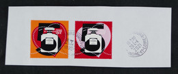 France 2021 Coeurs Chanel N°5 -  Timbres Oblitérés - Used Stamps