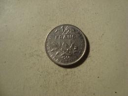 MONNAIE FRANCE 1/2 FRANC SEMEUSE 1968 - G. 50 Céntimos