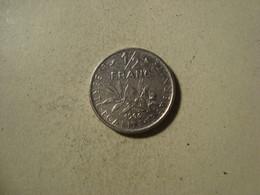 MONNAIE FRANCE 1/2 FRANC SEMEUSE 1966 - G. 50 Céntimos