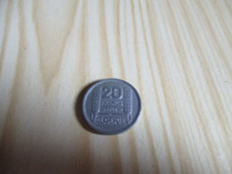 Algérie - 20 Francs Turin 1949.N°2025. - Argelia