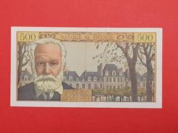 500 Francs Victor Hugo 1958 - 500 F 1954-1958 ''Victor Hugo''