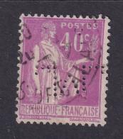 Perfin/perforé/lochung France No 281 M Sté Des Mines De Lens (7) - Perforadas