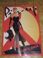 Pin Up Affiche Promotionnelle   Format 46 X 62 Berthet Bon Etat - Afiches & Offsets