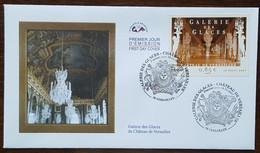 FDC 2007 - YT N°4119 - GALERIE DES GLACES / CHATEAU DE VERSAILLES - 2000-2009