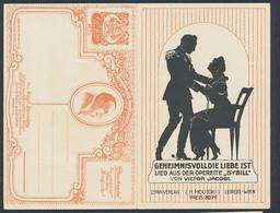 Klapp-AK Lied Aus Der Operette Sybill Geheimnisvoll Die Liebe Ist, Komponist Victor Jacobi - Opera