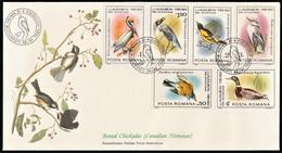 1985 Romania Audubon Birth Bicentenary FDC - Unclassified