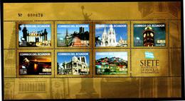 Ecuador 2012 ** YT2372-78 ** 7 Maravillas De Guayaquil. 7 Wonders Of Guayaquil - Ecuador