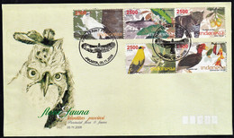 2008 Indonesia Wildlife Of Provinces FDC Set - Unclassified