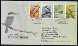 2010 Australia Kingfishers Postally Travelled FDC - Unclassified