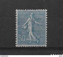 FRANCE  SEMEUSE  N° 161  * NEUF AVEC GROSSE CHARNIERE - 1903-60 Semeuse Lignée