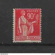 FRANCE  N° 285* NEUF AVEC GROSSE  CHARNIERE - 1932-39 Paix