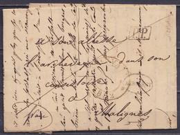"""L. Datée 29 Juillet 1832 De WESTMEERBEEK Càd LOUVAIN Pour Archevèque De MALIGNES (Malines) - Cachet Oval """"AERSCHOT"""" & [P - 1830-1849 (Unabhängiges Belgien)"""