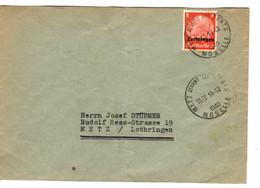 42676 - Cad Français   De METZ DEVANT  LES  PONTS - Oorlog 1939-45