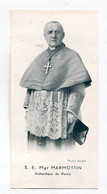 Image Pieuse : Mgr Marmottin   Archevêque De Reims - Religión & Esoterismo