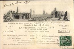 CPA Cabourg Calvados, La Victoire D'Aphrodite, Theatre De La Nature - Other Municipalities