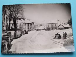 Place De LOMPNES Sous La Neige ( Edit. CIM ) Anno 1963 ( Voir Photo ) ! - Hauteville-Lompnes