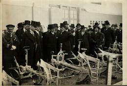 INAUGURATION DU SALON DE LA MACHINE AGRICOLE  18*13CM Photo Meurisse Paris France  Collectionmeurisse - Andere