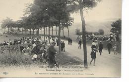 Circuit De L'Est D'Aviation 3ème étape MEZIERES CHARLEVILLE Spectateurs Attendent Les Aviateurs Sur La Route Nationa...G - ....-1914: Precursores