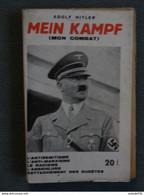 MEIN KAMPF , Mon Combat Aux Belles Editions .............. 201215-11 - War 1939-45