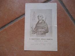 S.GIACOMO Della MARCA Compatrono Di NAPOLI Chiesa S.Maria La Nova - Devotion Images