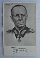 CP Portrait Erwin Romel - Generalfeldmarschall - Guerre 39-45 - Personaggi